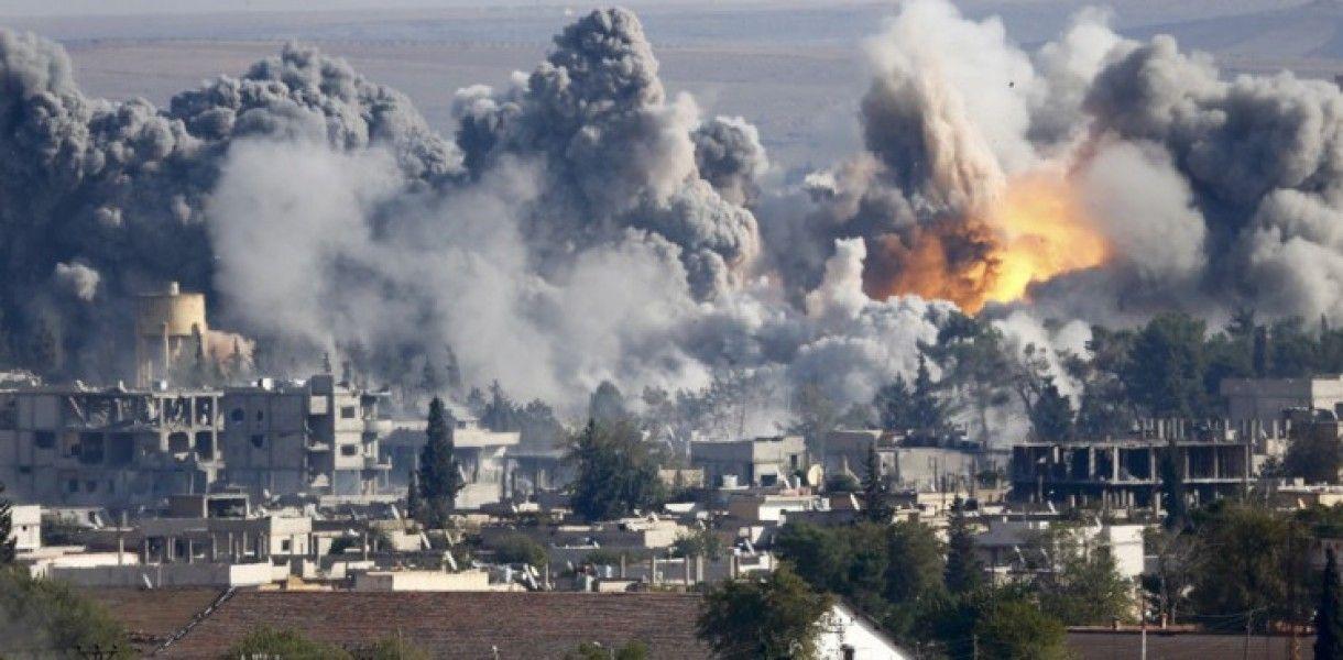 Результаты бомбардировки