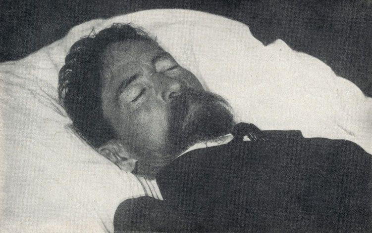 Антон Чехов на смертном одре