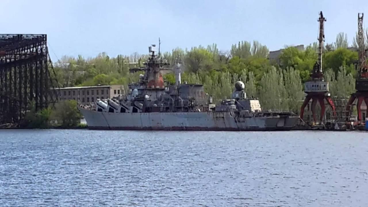 Недостроенный крейсер