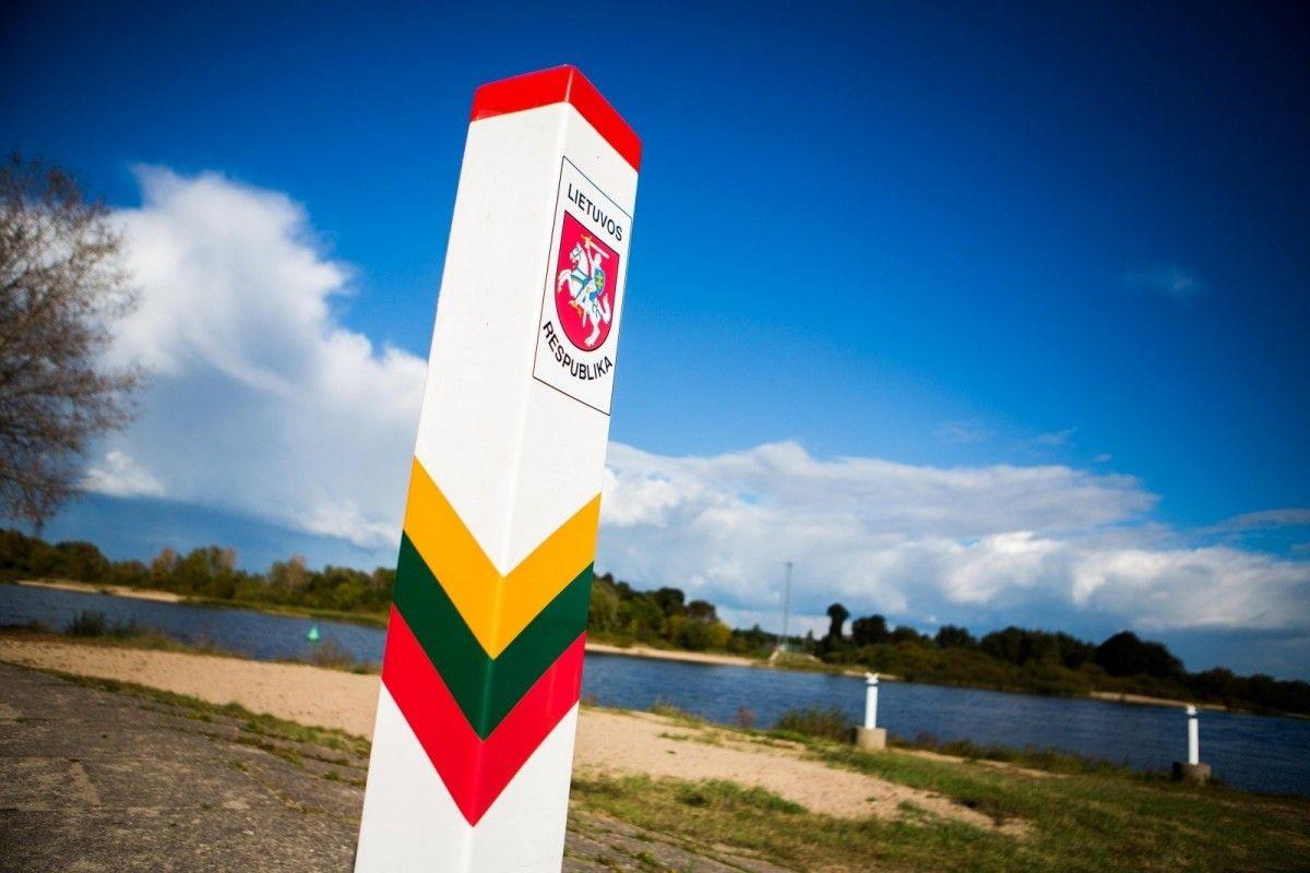 Литовский пограничный столб