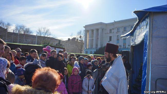 Рождественский вертеп в Симферополе