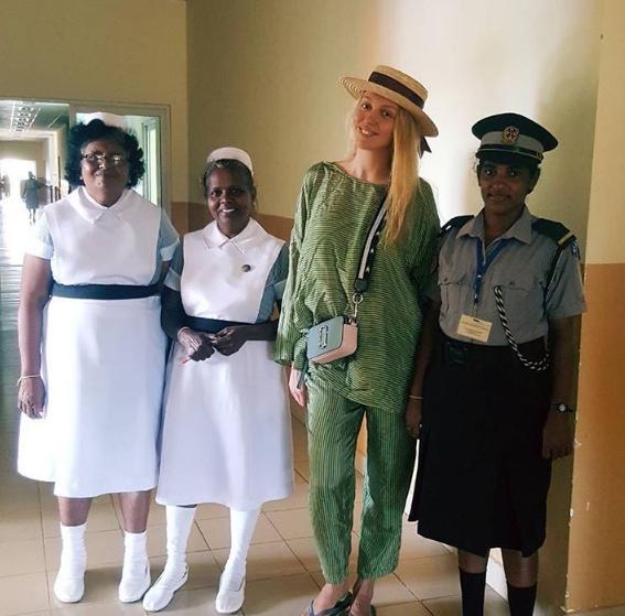 Оля Полякова была в госпитале на Шри-Ланке