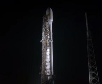 SpaceX запустила в космос еще одну ракету