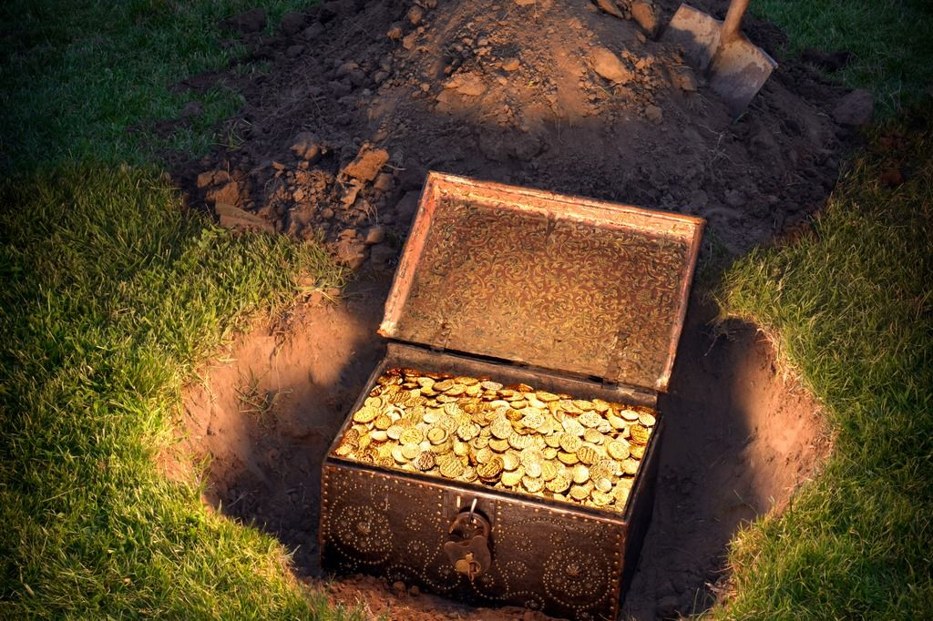 Найден клад, принадлежавший датскому королю-святому.