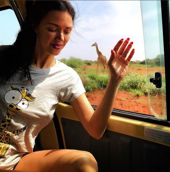 Виктория Смеюха в Кении вляпалась в историю