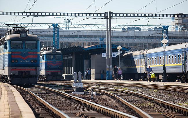Поезда украинские