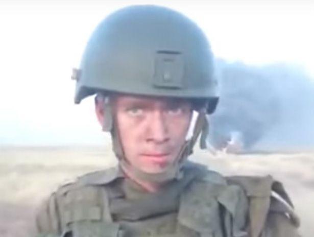 Рядовой армии РФ Семен Мережников