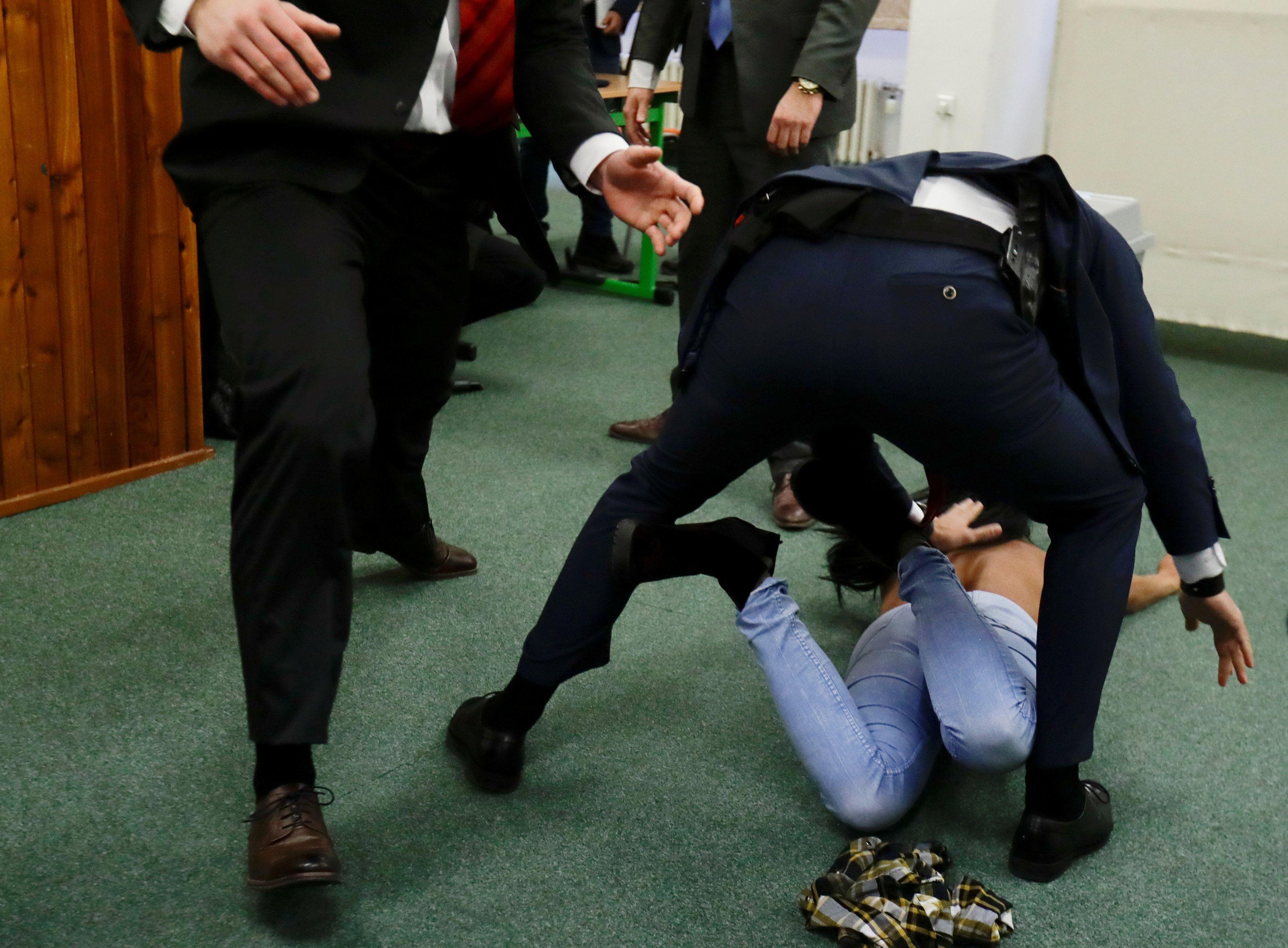 Задержанная активистка не хотела никому как-либо навредить, отметила ее адвокат