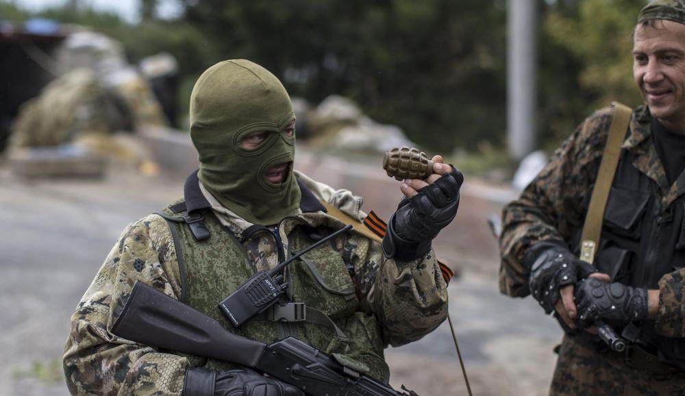 Российские наемники на Донбассе, иллюстрация.