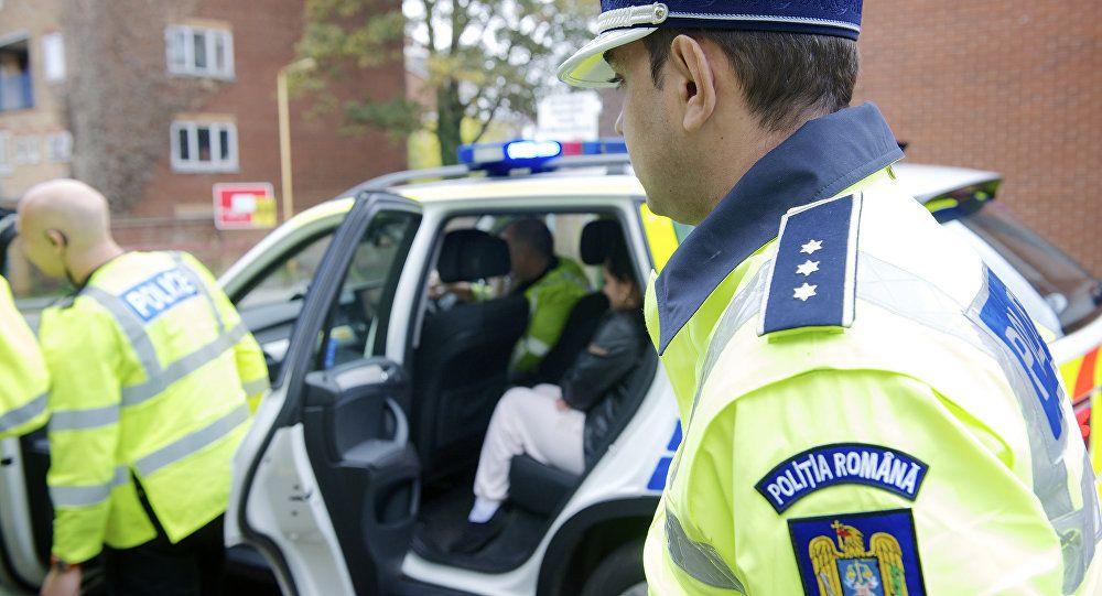Полиция Румынии, иллюстрация.