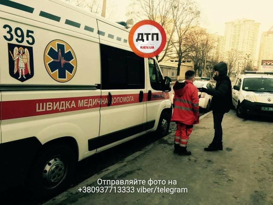 В Соломенском парке Киева нашли тело мужчины