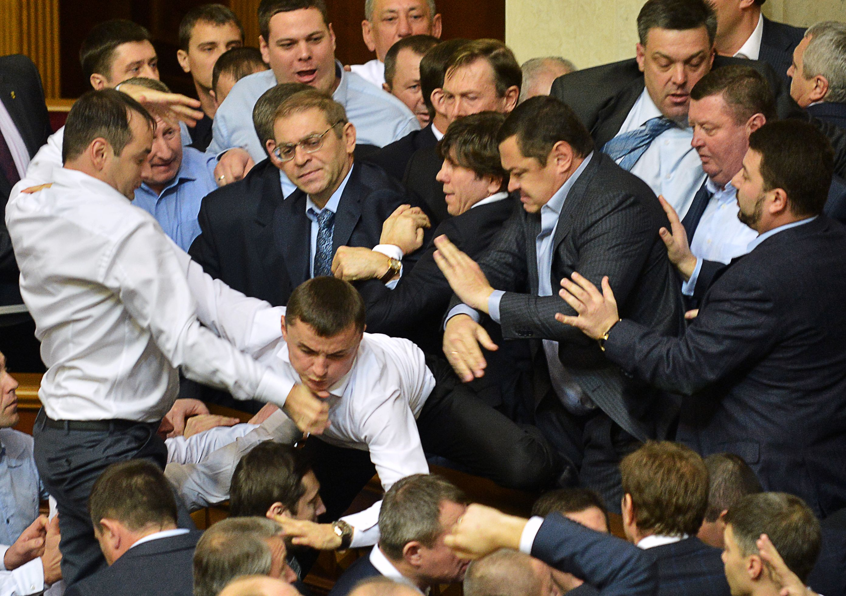 Украинцы голосуют за лица, а не программы