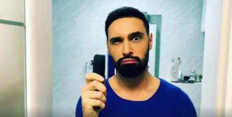 Виталий Козловский сбрил бороду