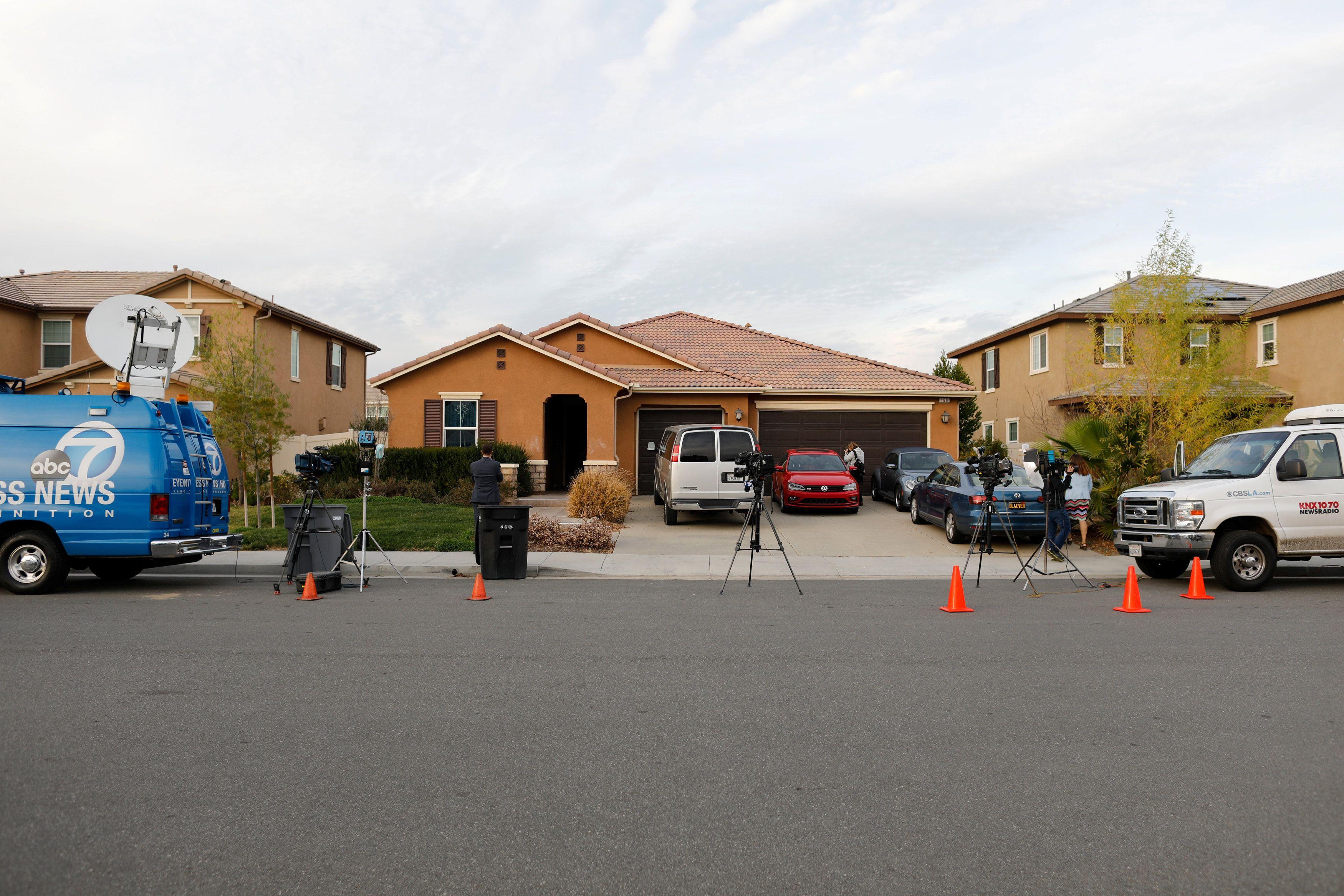 В американском городе в одном из домов дети находились в заточении