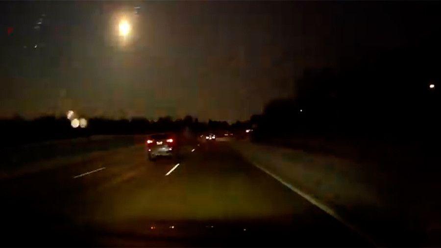 Метеорит над Мичиганом