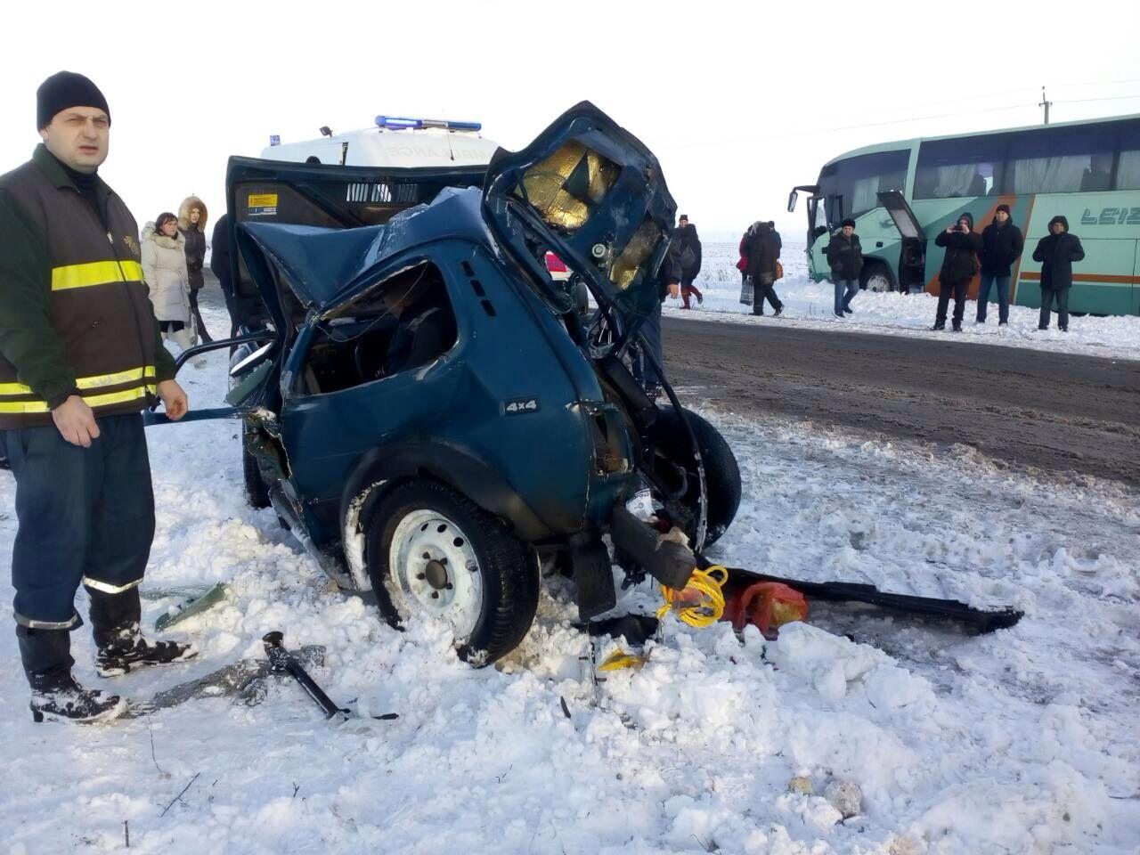На Запорожье авария унесла жизни двух людей