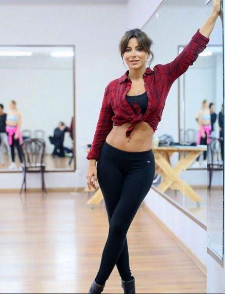 Ани Лорак на репетиции