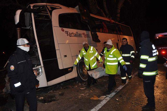 В Турции кровавая авария произошла сегодня утром