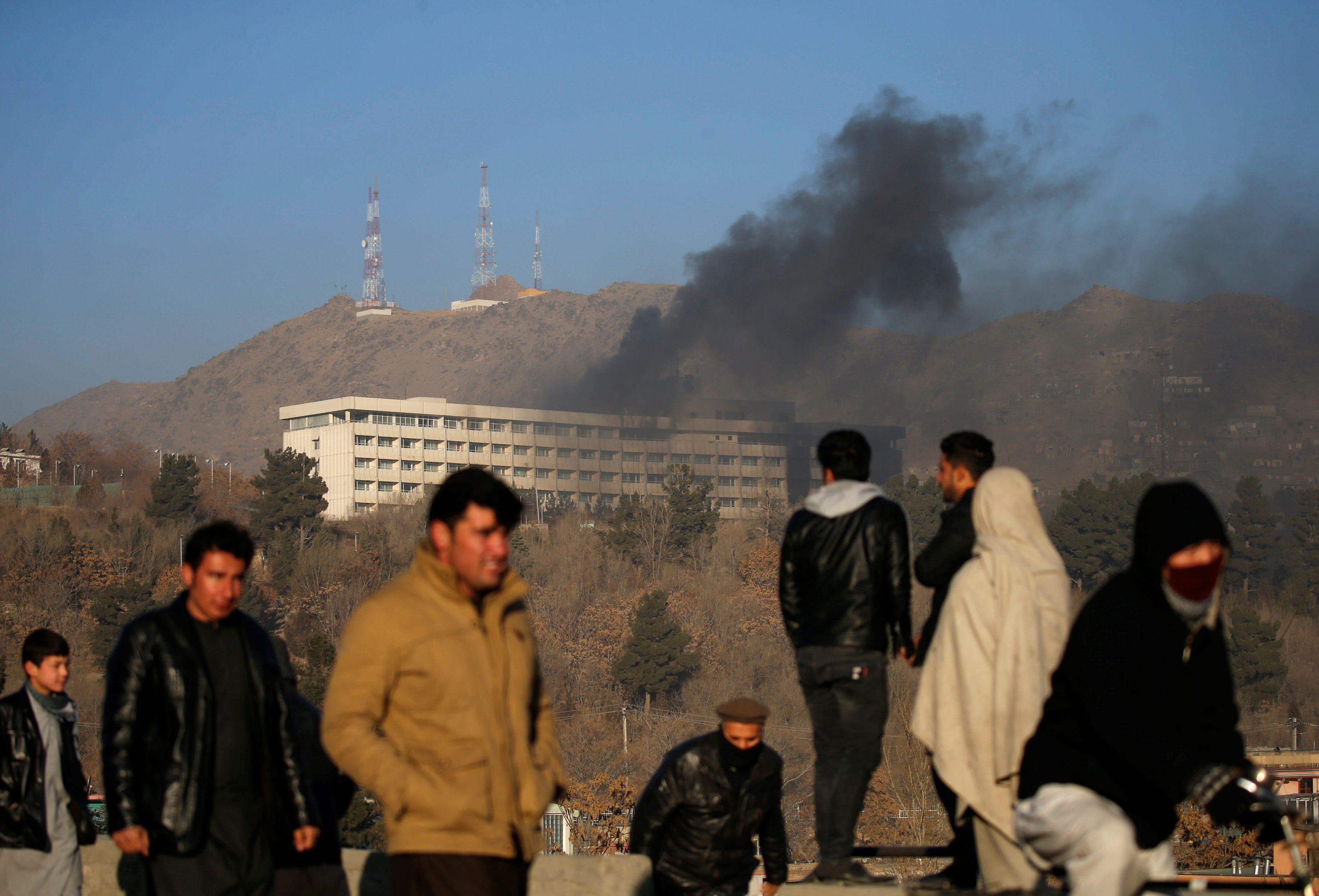 В Кабуле погибли шестеро украинце
