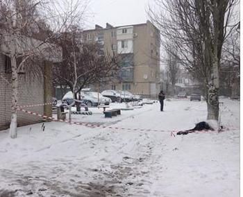 В Бердянске злоумышленник использовал гранату и погиб