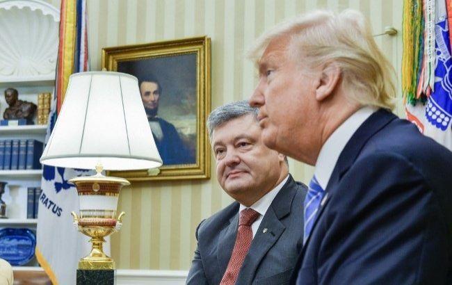 Встреча Порошенко и Трампа была пустой