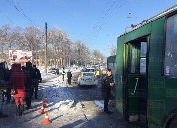 В результате аварии в Чернигове, в частности, пострадал ребенок