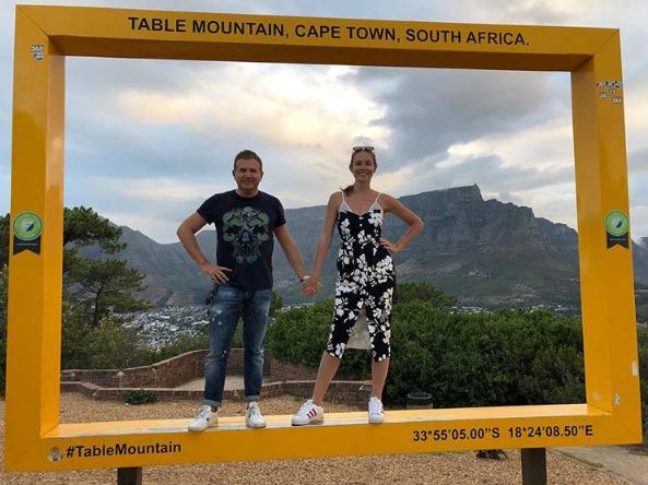 Юрий Горбунов и Катя Осадчая отдыхали в Африке