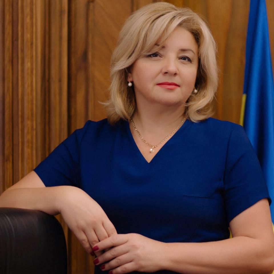 Глава Государственной аудиторской службы Украины Лидия Гаврилова