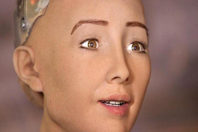 Робот-андроид София