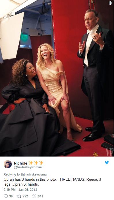 Опра Уинфри и Риз Уизерспун позировали для обложки Vanity Fair