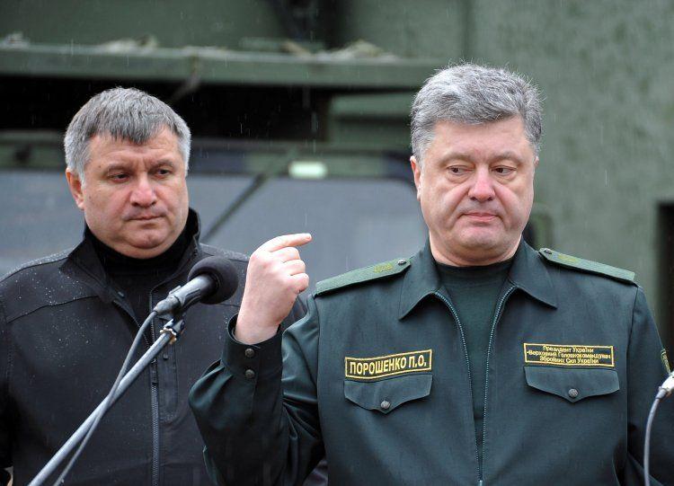 На вершине нынешней власти сформировались два центра силы, денег и влияния во главе с Аваковым и Порошенко