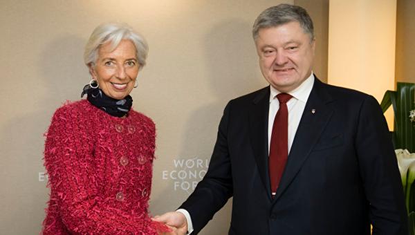 Порошенко заигрывает с МВФ