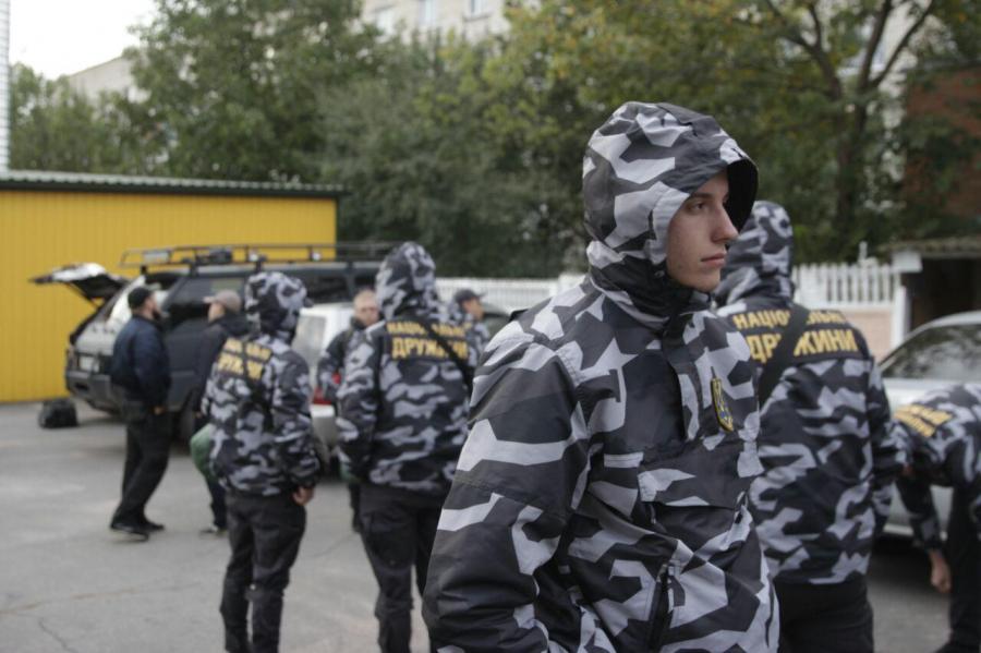 Национальная дружина в Украине.