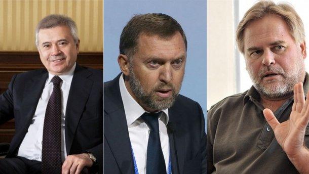 Российские олигархи из