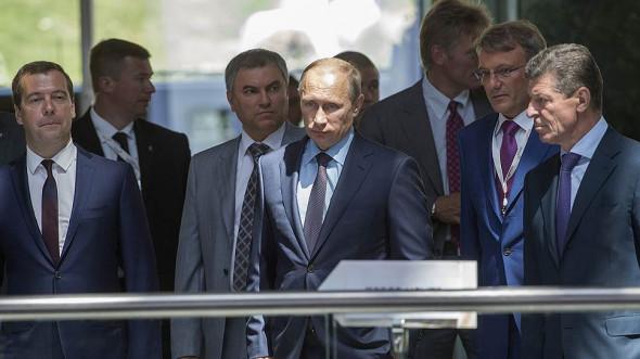 Окружение российского президента из списка США