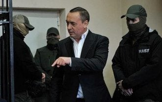 Николай Мартыненко в зале суда