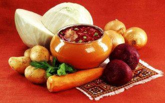 Рецепт борща станет культурным наследием Украины