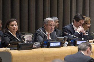 Антониу Гутерриш, ООН