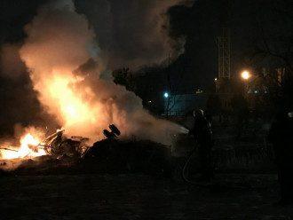 В результате падения вертолета в Кременчуге погибли члены экипажа борта