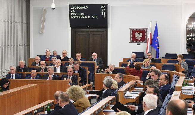 Сенат Польши ночью проголосовал за закон о запрете