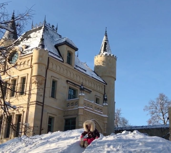 Зимние забавы на свежем воздухе Фото: Instagram/Максим Галкин