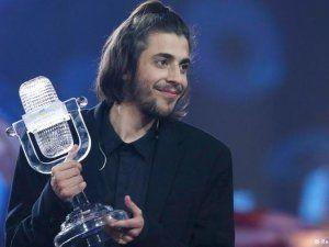 Сальвадор Собрал стал победителем Евровидения-2017 в Киеве Фото: Reuters