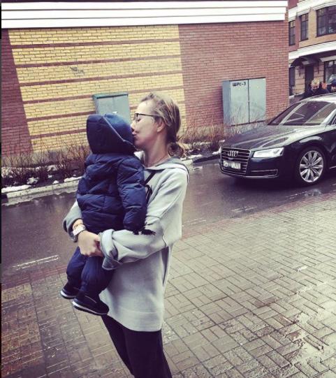 Сыну Ксении Собчак 18 ноября исполнился год Фото: Instagram/Ксения Собчак
