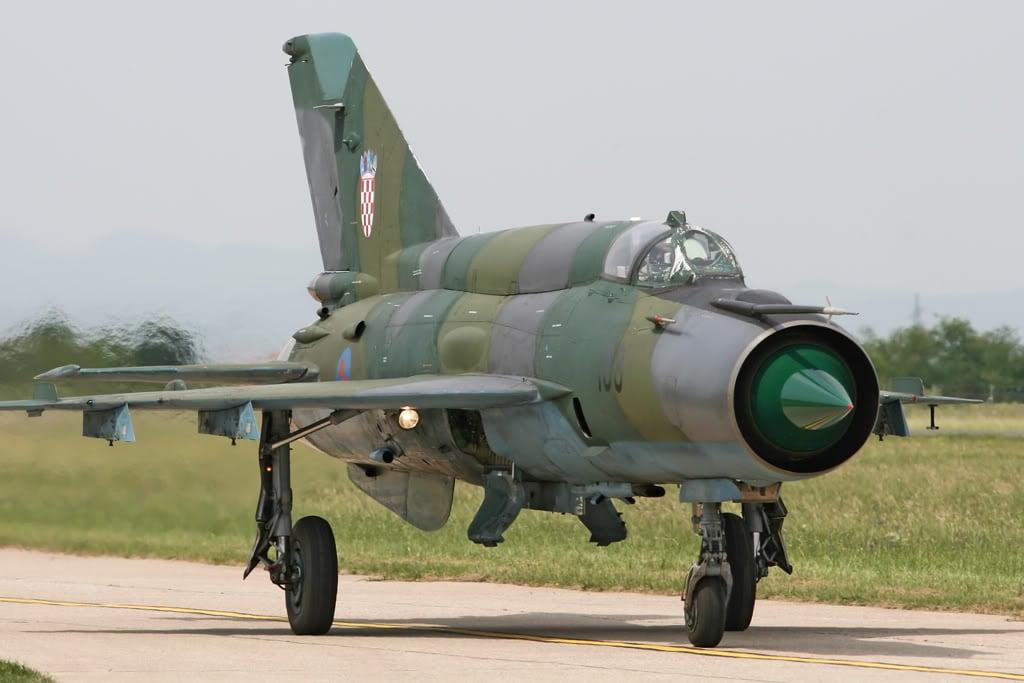 Хорватия требует заменить неисправные МиГ-21