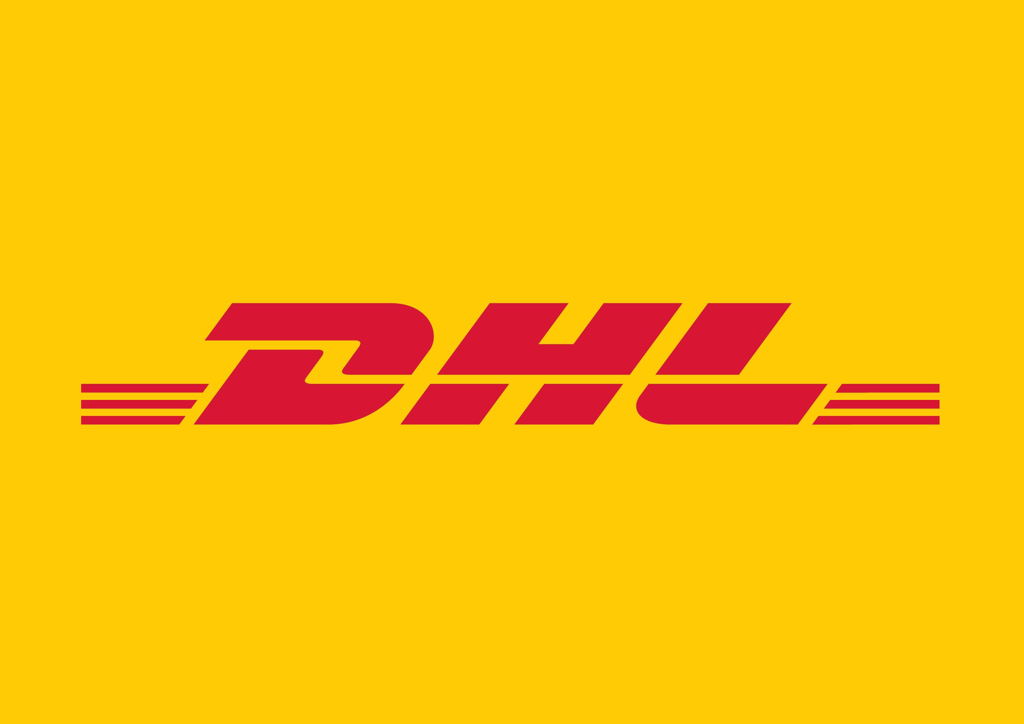 Логотип компании DHL