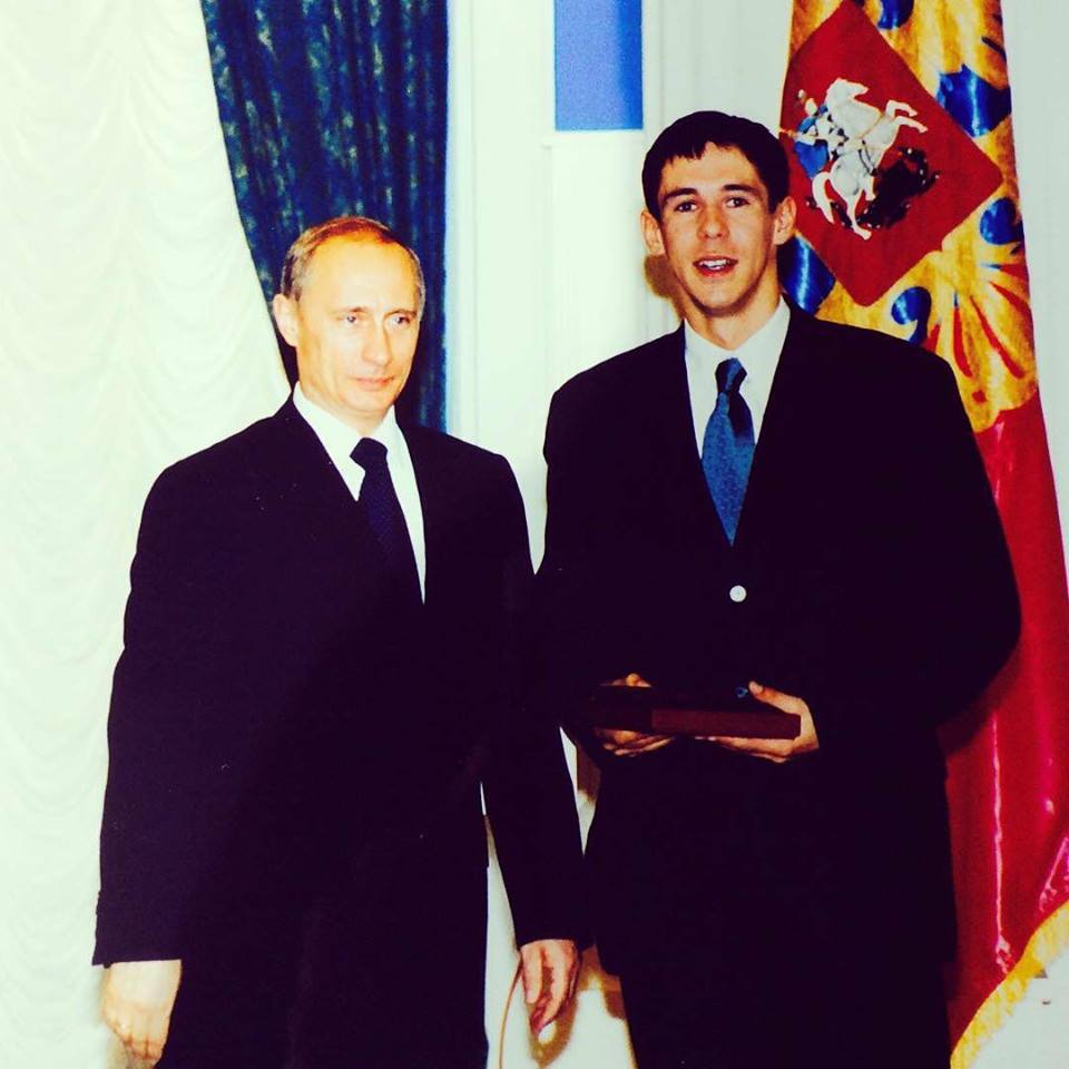 Владимир Путин и Алексей Панин.