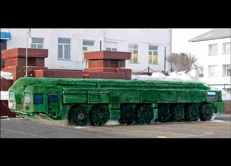 В России зэки слепли из снега