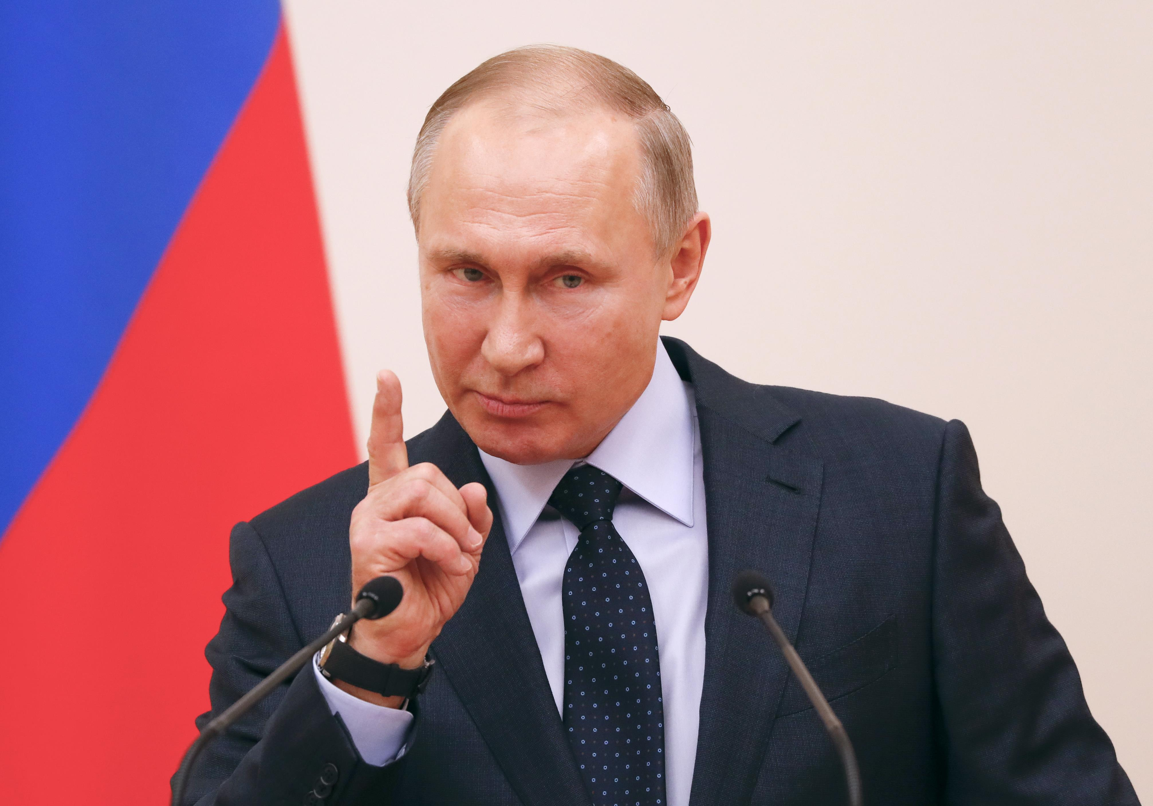 Владимир Путин, говоря о санкциях,