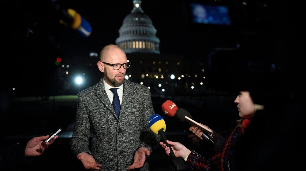 Арсений Яценюк. Фото: nfront.org.ua