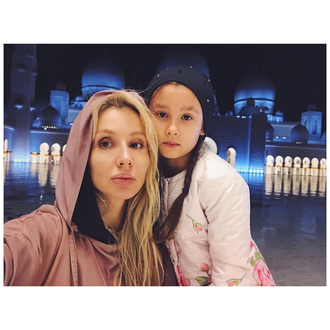 Светлана Лобода редко видится с дочерью